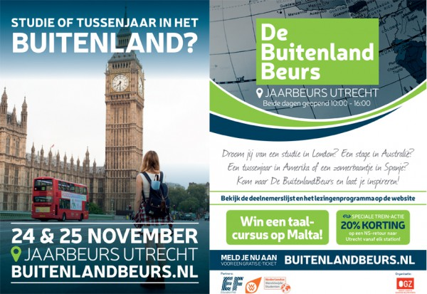 beurs buitenland stage