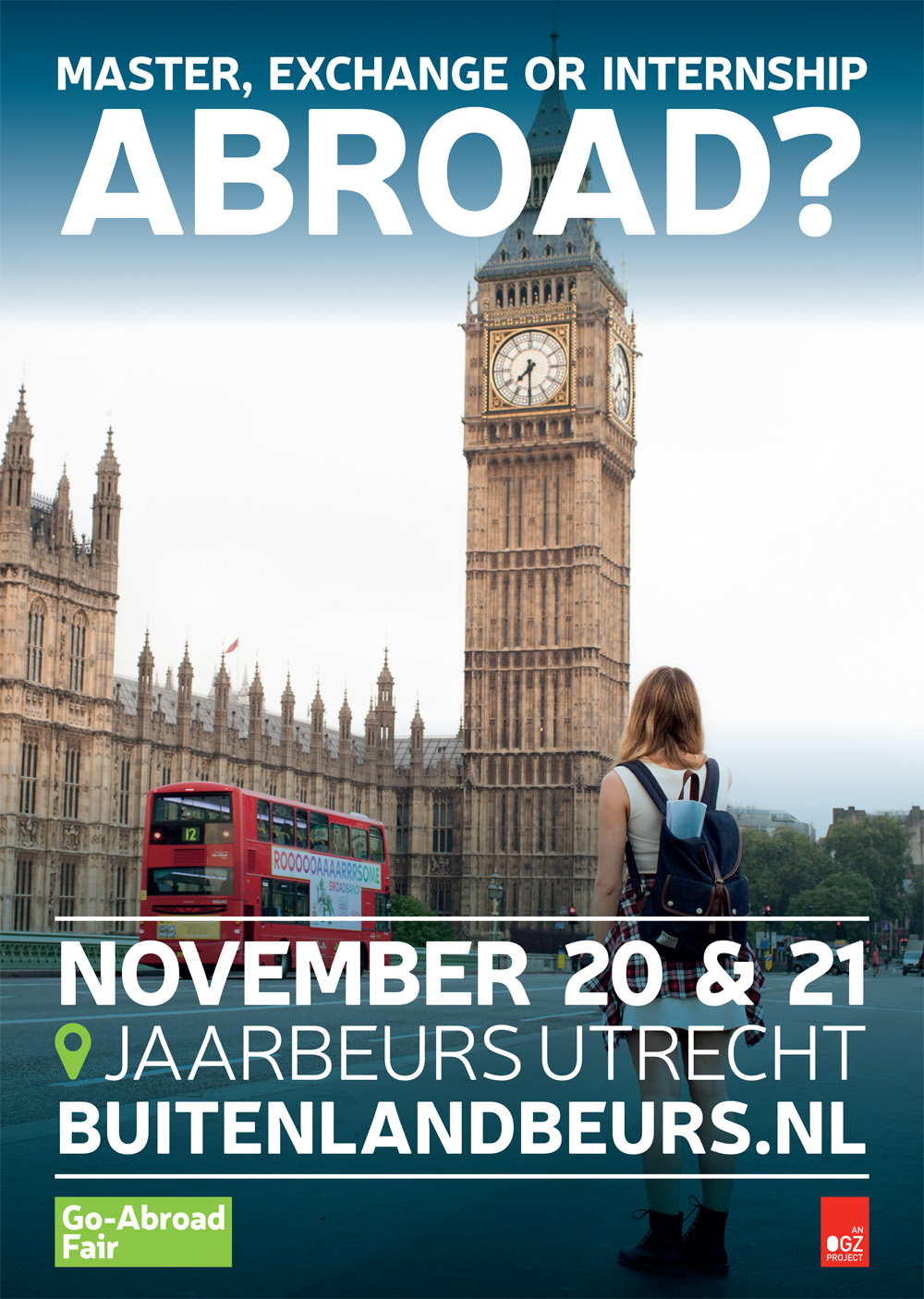Poster The Go-Abroad Fair